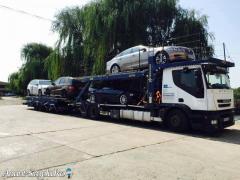 Trasport masini Anglia-Romania