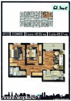 Apartament 3 camere, direct dezvoltator, Militari