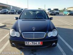Mercedes-Benz C220 2006 Blue Efficiency