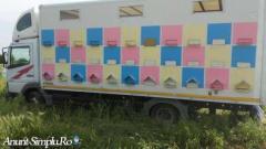 Camion omologat apicol