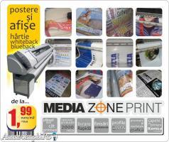 Banner perforat pe cladiri  la doar 3,4 euro+tva/m2!