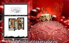 Apartament 2 camere, decom, 51mp, Chiajna Militari