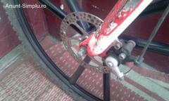 Full suspension 27 viteze frane disc  ,