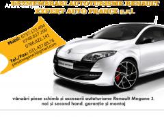 Dezmembrari Megane 3 III (2009-2015)