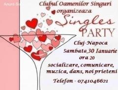 Retro singles party