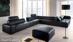 Canapele moderne din stofa sau piele
