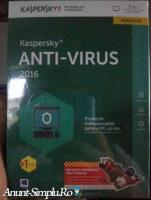 Kaspersky Anti-Virus 2016 1 Pc
