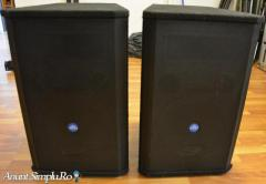 Vand 2 boxe eminence st122 2x300w rms
