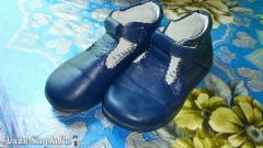 Pantofi de fetite nr 26, din piele, import