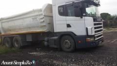 SCANIA 6x2 BASCULA schimb cu 3.5 tone