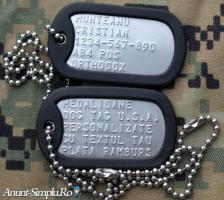 Placute de identificare armata S.U.A. - DOG