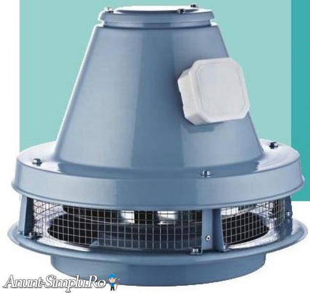 BRCF-M –ventilator direct drive pentru acoperis
