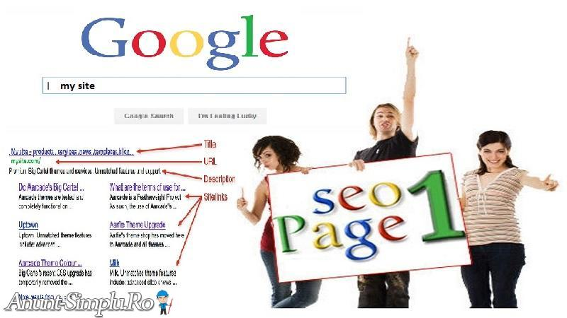 Vrei sa fii numarul 1 in Google ?