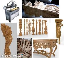 Vand utilaj CNC pentru sculpturi picioare de mese