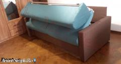 Canapele extensibile cu saltea inclusa