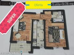 Oferta Apartament, 2 camere, 52mp, Militari Auchan
