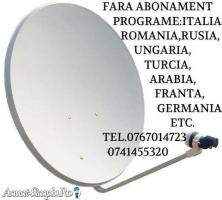 Antene satelit fara abonament, 0767014723