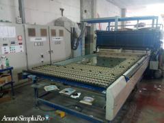 Cuptor Securizare Sticla Efco 1600 x 3600  Second Hand
