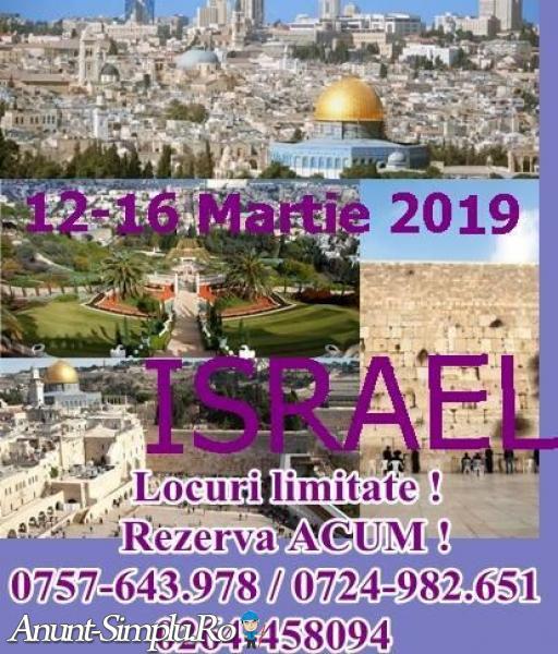 Israel 12-16 Martie 2019 – o vacanta plina de excursii