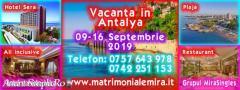 Antalya 09-16 Septembrie – o vacanta de vis la malul marii