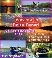 Delta Dunarii 1 – 06 Septembrie – comoara Romaniei