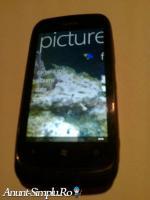 Tel Nokia Lumia 610 Black