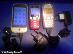 Smartphone dual sim si Siemens 2 buc. + Cadou