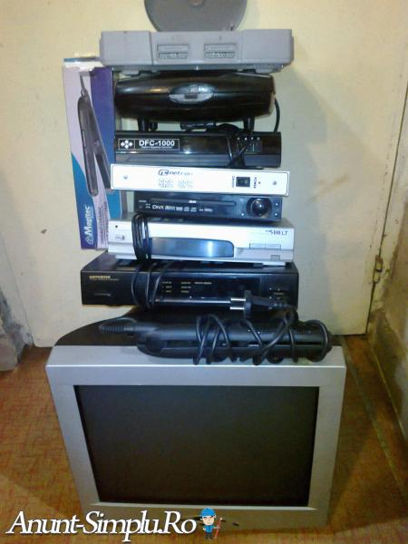 PlayStation Receiver Converter Statie CATV Monitor
