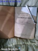Carte religioasa veche rara Vasile Tarnavschi 1928