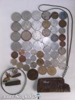 Monezi si diferite obiecte vechi colectie