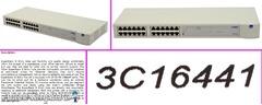 Switch 24 port SuperStack 3Com 3C16441