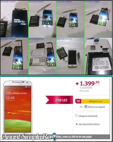 Tel Samsung S4 64GB White Dual SIM
