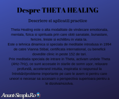 Vindecare Energetica (Reconnective Healing si Theta Healing)