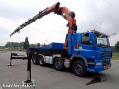 Inchiriez Camion cu Macara PK 72000