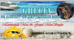 Vacanta in Grecia -28 August – 06 Septembrie 2020