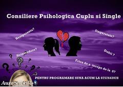 Consiliere psihologica pentru cupluri si oameni singuri
