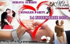 Party pentru cei Singuri – Serata Iubirii-----14Noiembrie