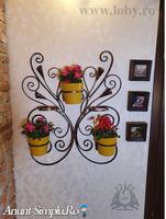 """Suport de perete pentru cinci flori """"Cale"""""""