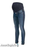 Blugi pentru gravide cu dungi laterale