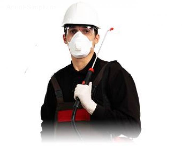 Servicii de deratizare, dezinsectie si dezinfectie
