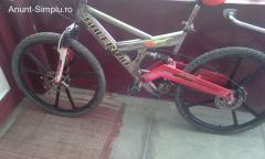 Full suspension 27 viteze frane disc  ,