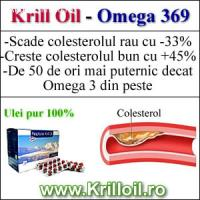 Omega 369-Krilloil pentru colesterol marit