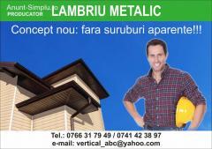 Lambriu metalic
