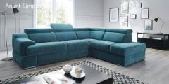 Canapele, coltare extensibile din piele sau stofa.