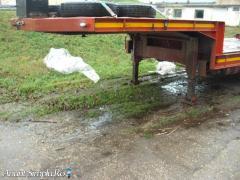 Vand trailer de 24 tone