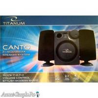Boxe stereo 2.1 TITANUM model Canto TP101