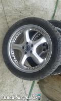 jante aluminiu cu tot cu pneuri