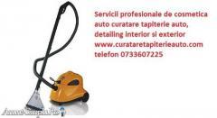 Curatare tapiterie auto, Spalare tapiterie auto