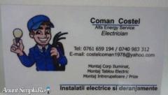 Electrician Bucuresti, interventii rapide