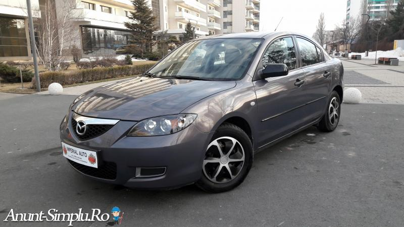 Mazda 3 sedan 2008 UNIC PROPRIETAR impecabila